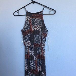 Lush Nordstrom dress with leg slit